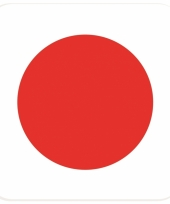 15 vierkante bierviltjes japan thema