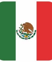 15 vierkante bierviltjes mexico thema