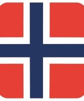 15 vierkante bierviltjes noorwegen thema