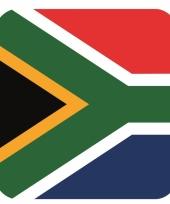 15 vierkante bierviltjes zuid afrika thema