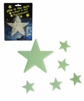 16 stuks glow in the dark sterren