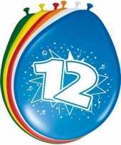 16x stuks ballonnen 12 jaar 30 cm