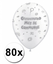 1e communie ballonnen voordeelpakket
