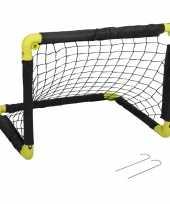 1x opvouwbaar voetbaldoel 55 cm