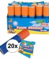 20x foam supersoaker 15 cm