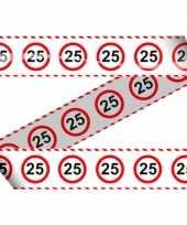 25e verjaardag lint 15 meter