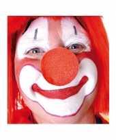 25x opzet clownsneuzen rood