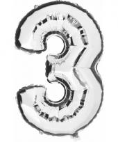 3 jaar geworden cijfer ballon