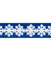 3 meter lange papieren sneeuwvlok slinger