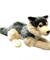 30 cm grote wolven knuffeltje