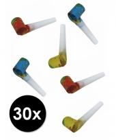 30 gekleurde roltongen