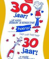 30 jaar wc rol man