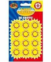 36x plaffertjes ringen voor een 8 schots pistool
