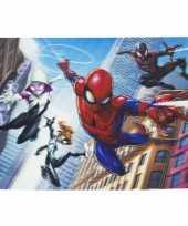 3d placemat marvel spiderman en friends 42 x 28 cm
