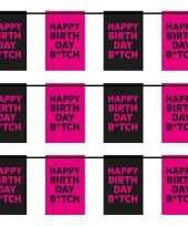 3x happy birthday b tch vlaggenlijnen 6 m