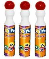 3x rode bingo stiften markers 43 ml