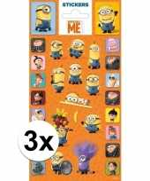 3x stickervel minions