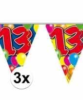 3x vlaggenlijnen 13 jaar 10 meter