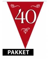 40 jaar jubileum versiering pakket