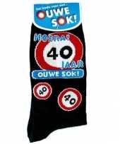 40 jaar verjaardag sokken