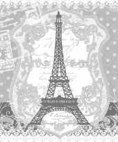 40x parijs frankrijk thema servetten 33 x 33 cm