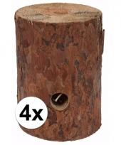 4x zweedse fakkel 20 cm