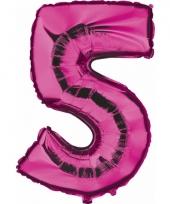 5 jaar geworden cijfer ballon 10062693