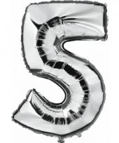 5 jaar geworden cijfer ballon