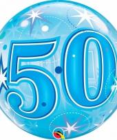 50 jaar feest folie ballon gevuld met helium 10089056