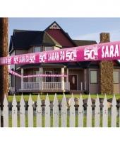 50 jaar sarah afzet en decoratie lint