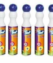 5x blauwe bingostift markers 43 ml