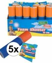 5x foam supersoaker 15 cm