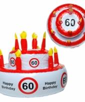 60 jaar versierings taart