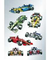 63x raceauto formule 1 stickers