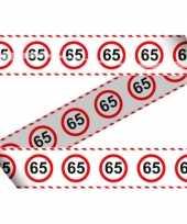 65e verjaardag lint 15 meter