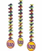 6x gekleurde rotorspiralen 100 jaar