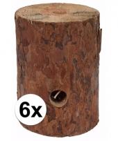 6x zweedse fakkel 20 cm