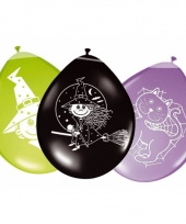 8 stuks heksen feest ballonnen