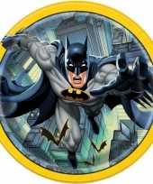 8x batman themafeest eetbordjes 23 cm
