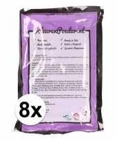 8x holi kleurpoeder paars