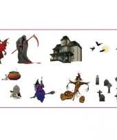 9 halloween stickers 44 cm