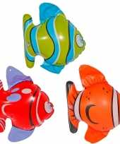 9x opblaasbare vissen
