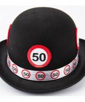 Abraham 50 jaar pop hoed 10063475