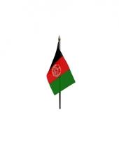 Afhganistan landenvlag op stokje