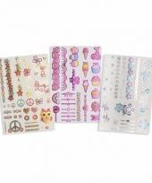 Afwasbare tattoos voor meisjes
