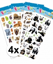 Agenda stickerset safari dieren