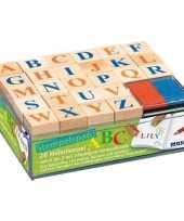 Alfabet stempel hobby knutselset voor kinderen