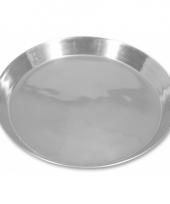 Aluminium fruitschaal 30 cm
