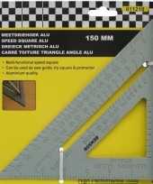 Aluminium meetdriehoek 15 cm