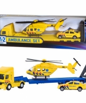 Ambulance vrachtwagen set